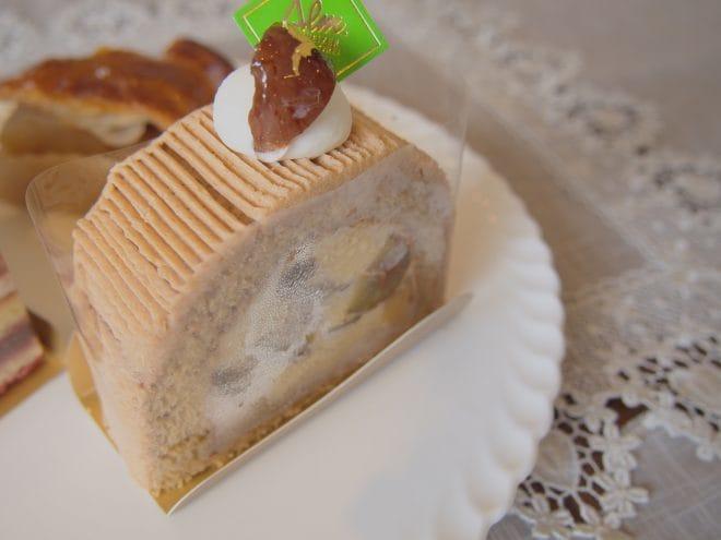 スイス菓子アルム黒糖和栗モンブラン1