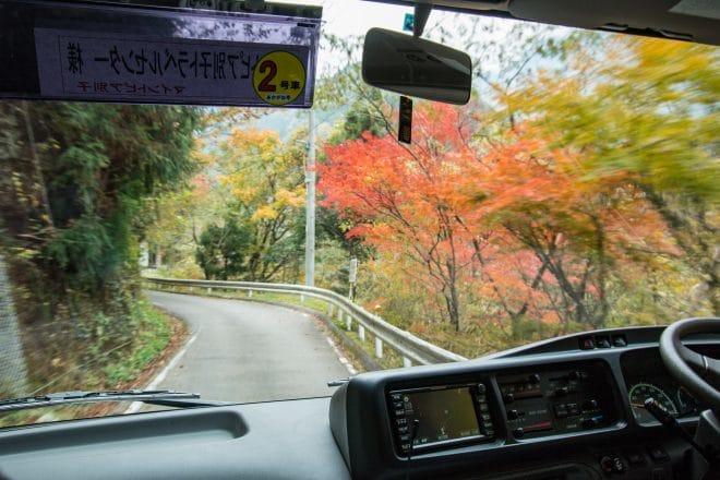 マイントピア別子観光バス3