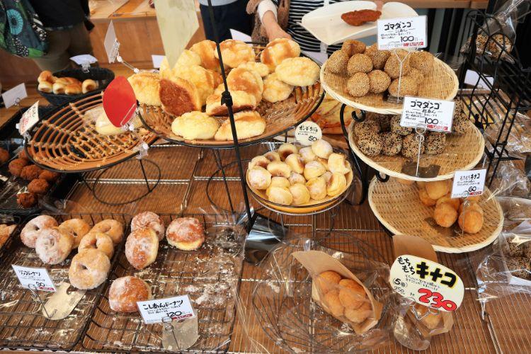 うちだパン 店内のパン4
