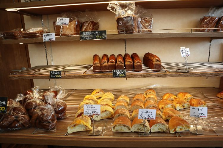 うちだパン 店内のパン8