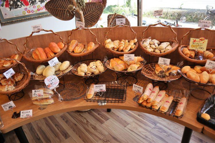 うちだパン 店内のパン6