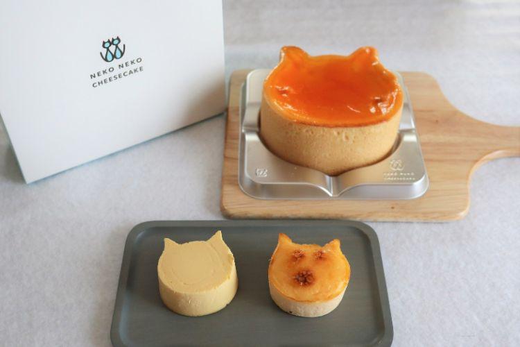 ねこねこチーズケーキ エミフルMASAKI店