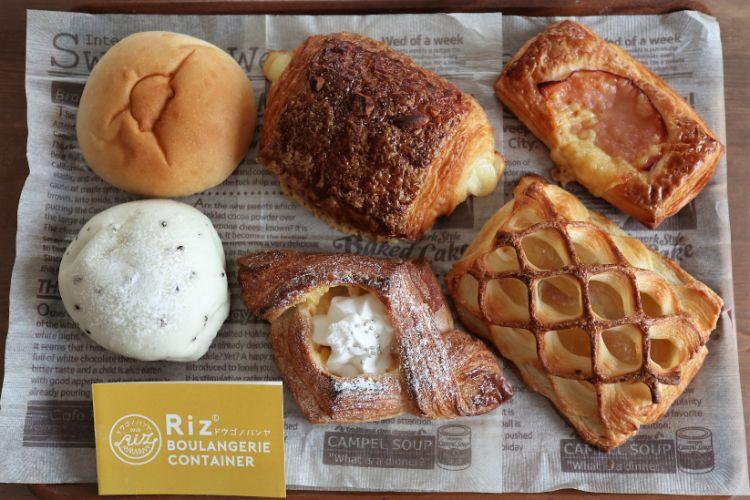 RIZ 購入したパン1