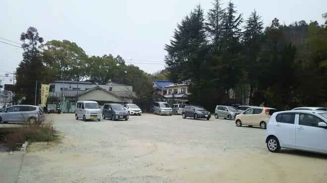 石手寺無料駐車場