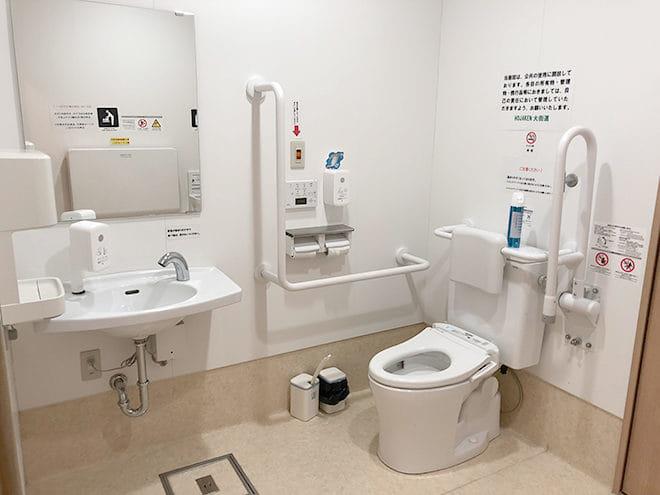 HOJAKEN大街道_多目的トイレ