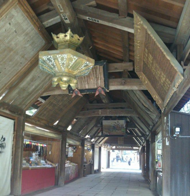 石手寺回廊