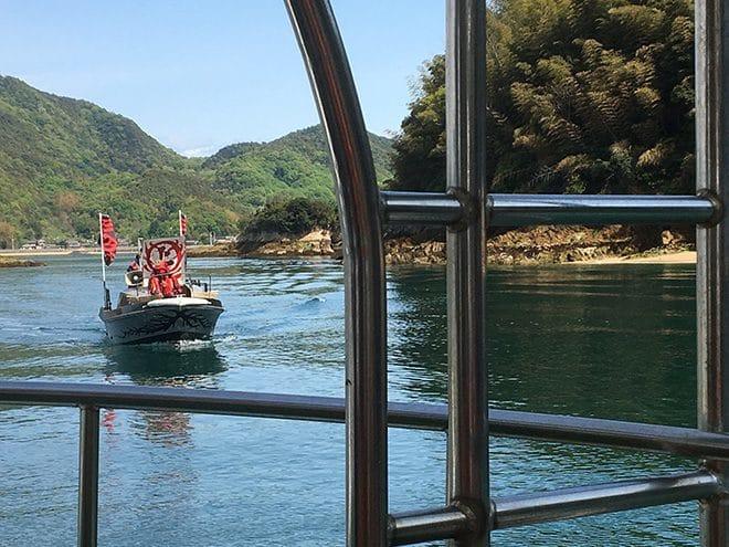 来島海峡急流観潮船 村上海賊登場