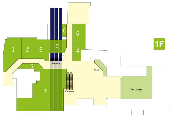 AVA1階フロアマップ