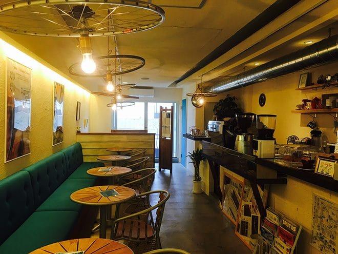 ナカムラコーヒー 店内