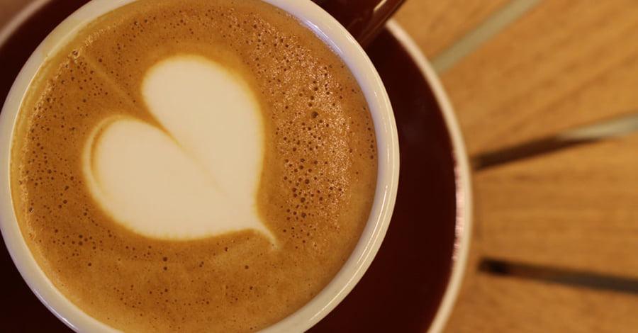 A cup of...ナカムラコーヒー カプチーノ