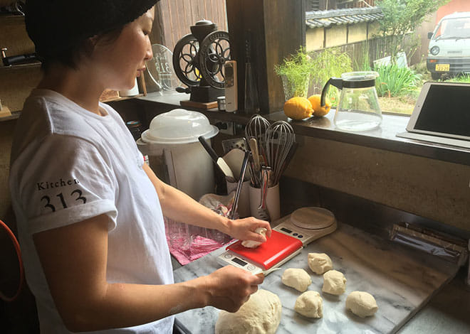 Kitchen313Kamiyuge店主宮畑真紀さん