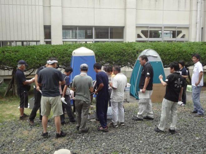 愛媛県総合防災訓練