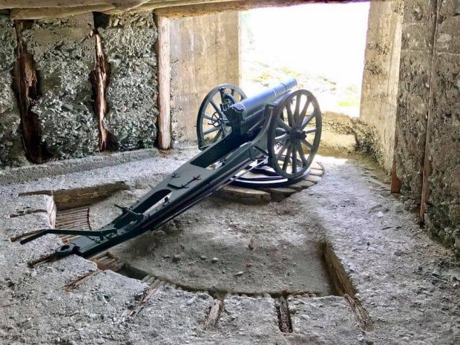 三八式十二糎榴弾砲レプリカ