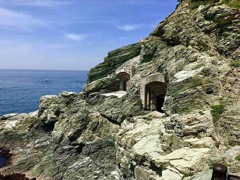 豊予要塞穹窖砲台跡