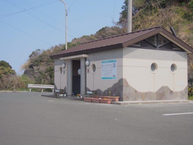 佐田岬灯台トイレ