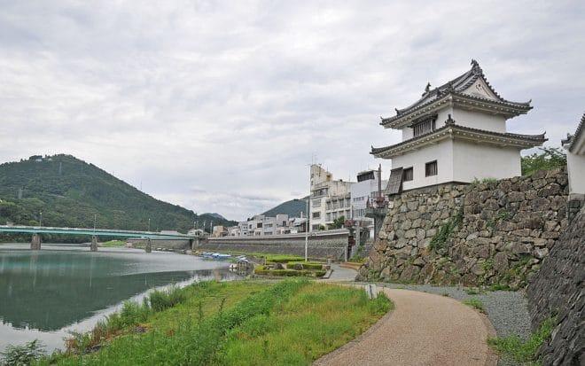 苧綿櫓(大洲城)