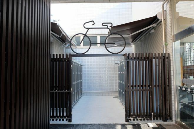 自転車ロッカー1