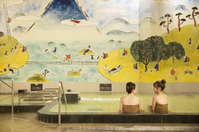 喜助の湯大浴場1