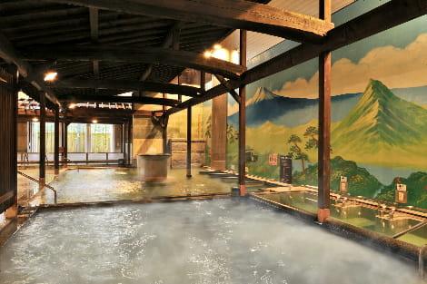 喜助の湯松山_浴槽