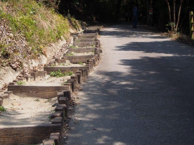 松山城遊歩道