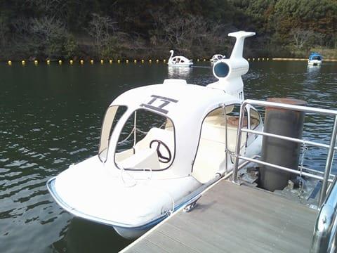 スワンボートヘリコプタ