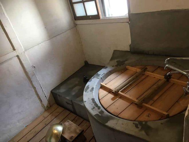 汐見の家五右衛門風呂