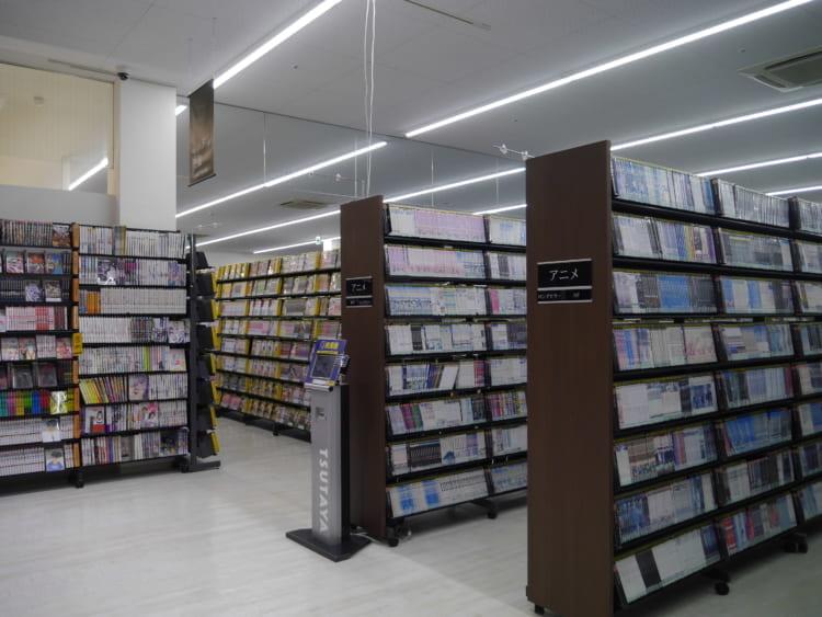TSUTAYA新居浜店_棚