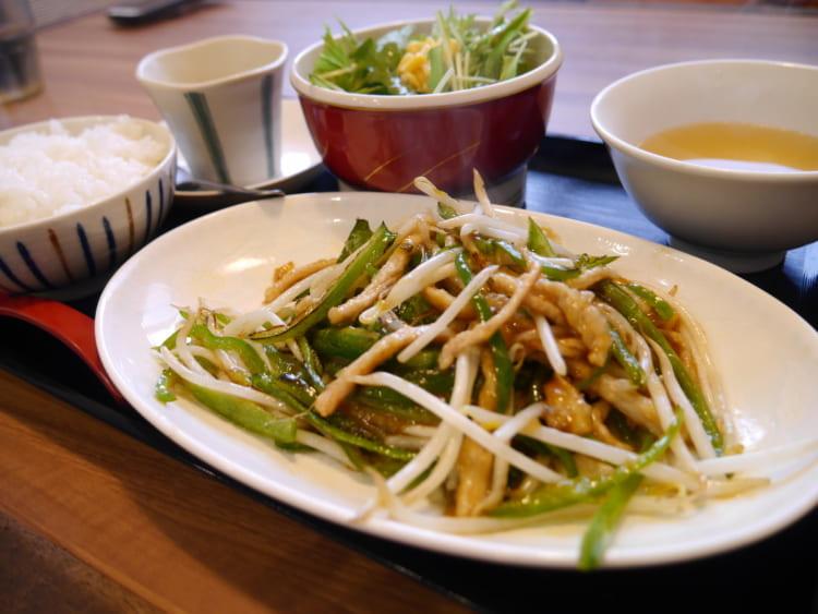 中華麺飯茶屋佳_青椒肉絲