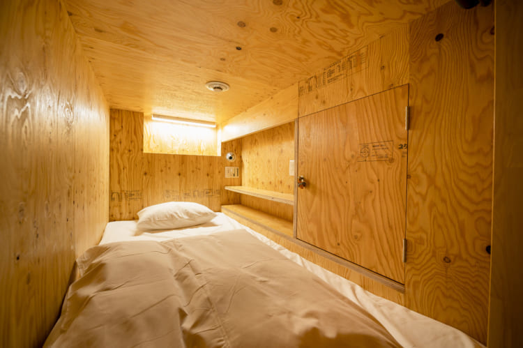 今治喜助の宿_ カプセルホテル個室