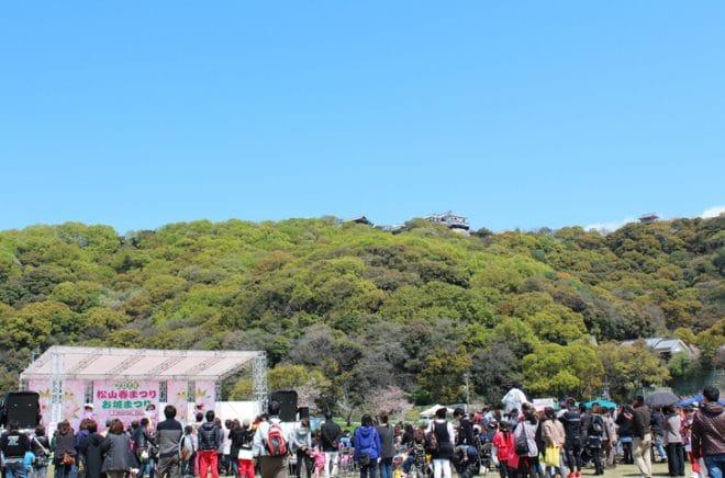 松山春祭り1