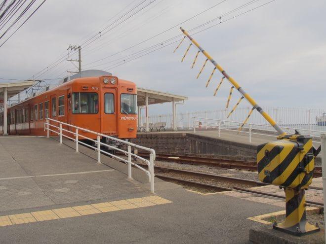 梅津寺駅2