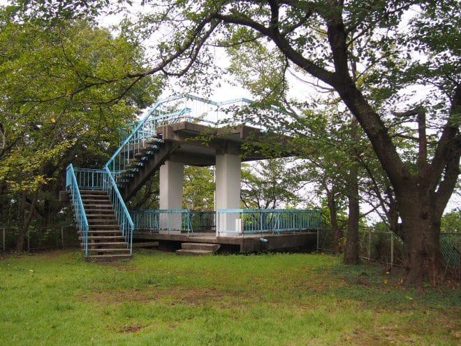 滝の宮公園展望台