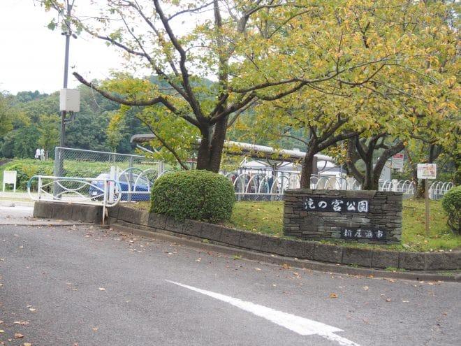 滝の宮公園駐車場1