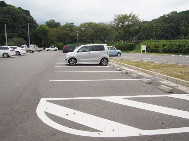 滝の宮公園駐車場2