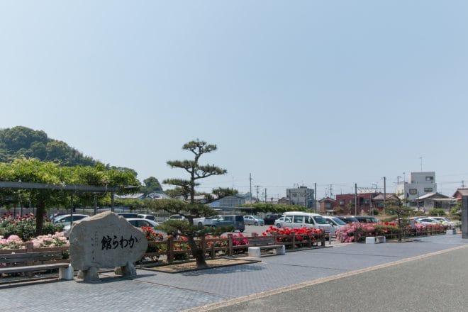 瓦ふるさと公園駐車場1