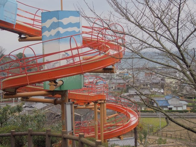 ローラー滑り台1
