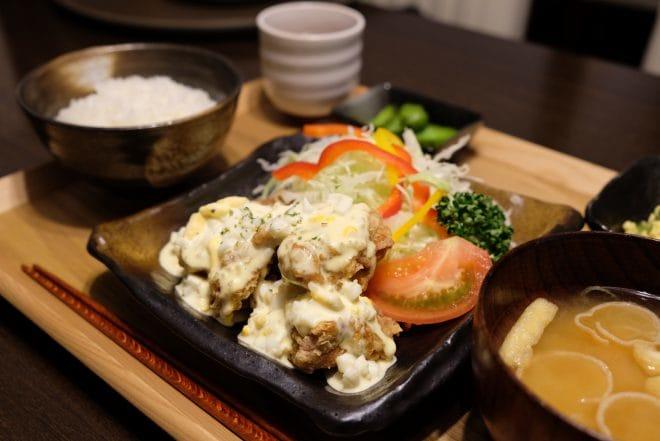 玉屋珈琲店食事2