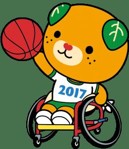 車椅子バスケットボール_カラー