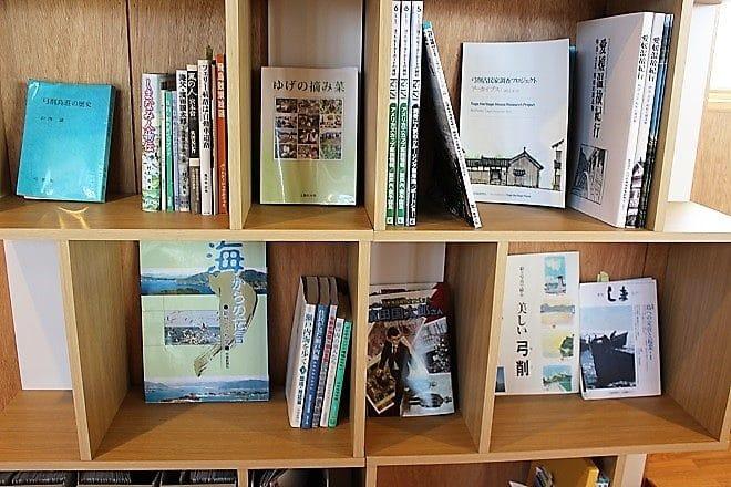 ゆげ海の駅舎ふらっとライブラリースペース