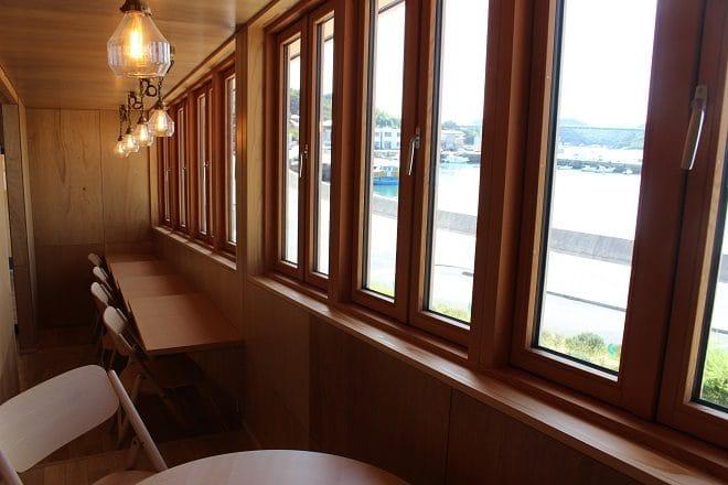 ゆげ海の駅 2階展望スペース