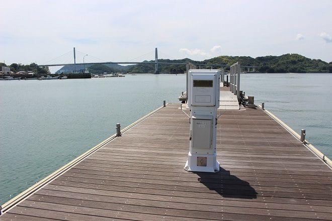 ゆげ海の駅 桟橋