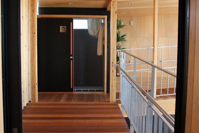 ゆげ海の駅舎ふらっと シャワースペース