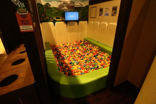 ボール風呂