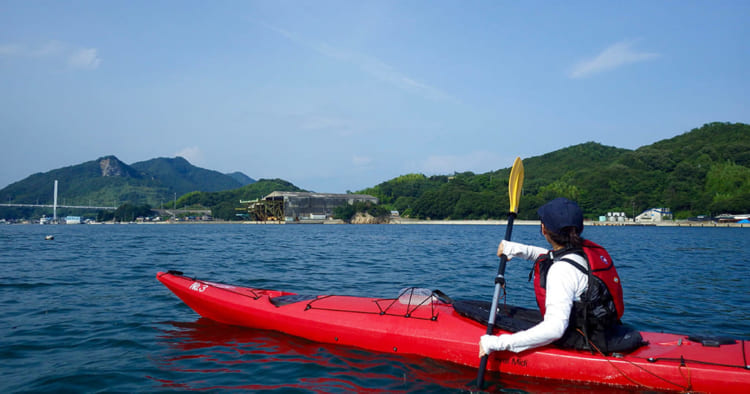 上島町シーカヤック体験