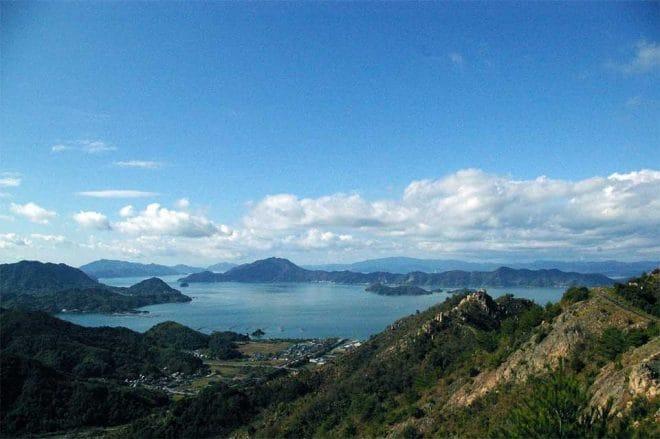 大三島遠景