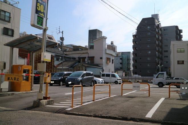 濱商大街道パーキング駐車場写真
