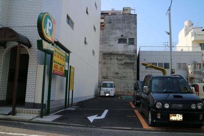 三井のリパーク駐車場