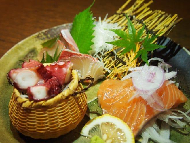 花咲か爺屋料理お刺身