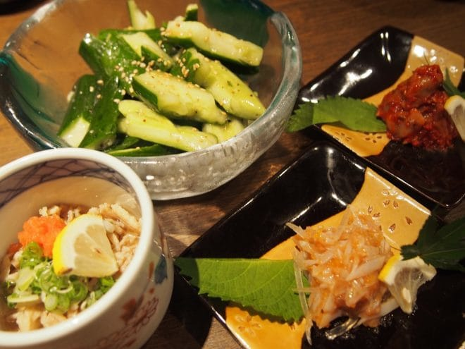 花咲か爺屋おすすめ料理4品