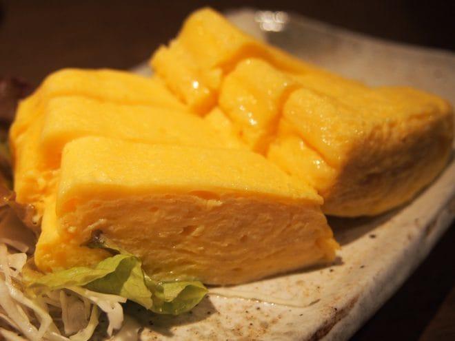 花咲か爺屋おすすめ料理出汁巻き玉子